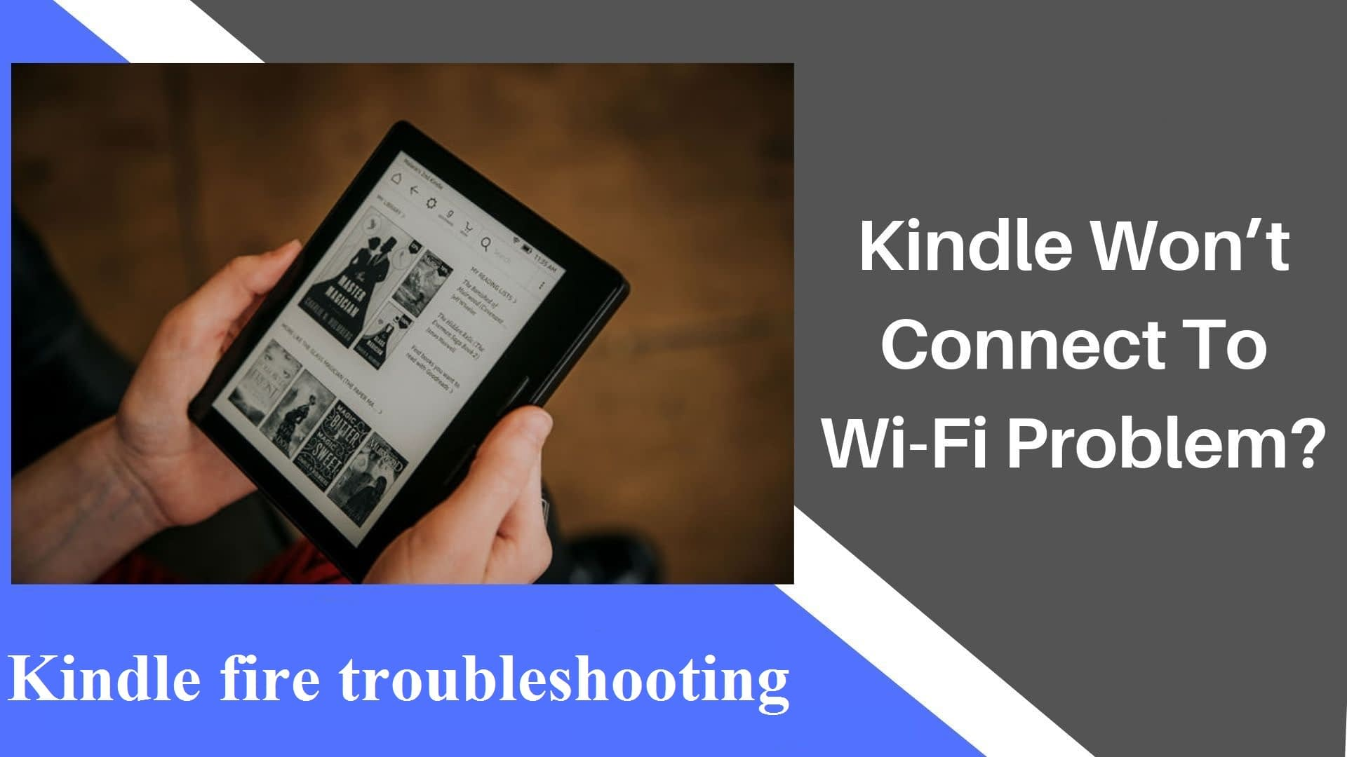 Kindle fire troubleshooting
